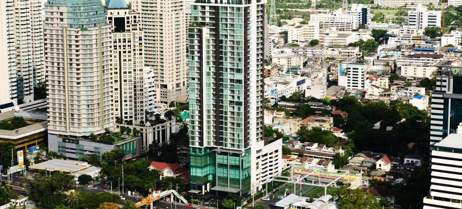 Urbana Sathorn Bangkok condos for sale and rent Exterior